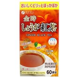 FINE JAPAN ® Ginger Black Tea 60g(1gx60sachets)