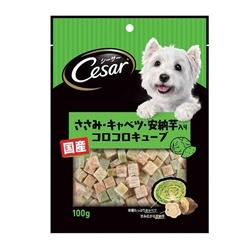 Cesar 西莎 点心系列狗小食 鸡肉椰菜安纳芋杂锦粒 100g
