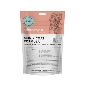 Picture of MicrocynAH Skin + Coat Formula For Dogs 300g