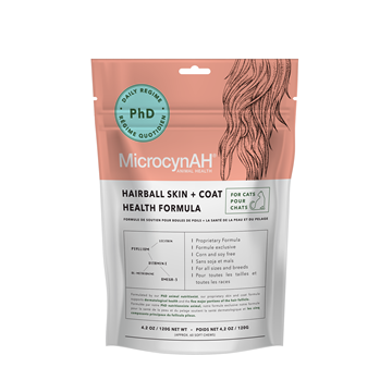 Picture of MicrocynAH Skin + Coat Formula For Cats 120g