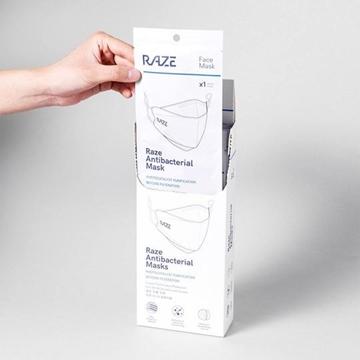 图片 Raze 4层光触媒抗菌口罩10片装