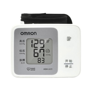 Picture of OMRON HEM-6121 Wrist Sphygmomanometer China Version Parallel Import