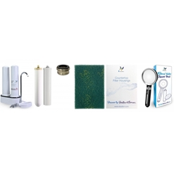 Doulton Dalton M12 series DCP203 + BTU2501 and FRC9B04 + shower filter shower double filter above countertop water filter