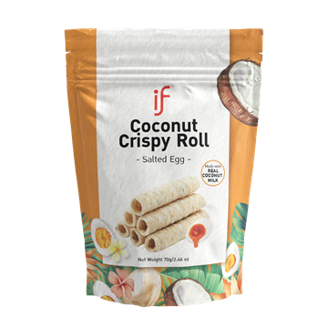 Picture of iF Crispy Salted Egg Yolk Coconut Roll (24 packs)