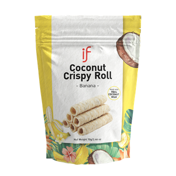 Picture of iF Crispy Banana Coconut Roll (24 packs)
