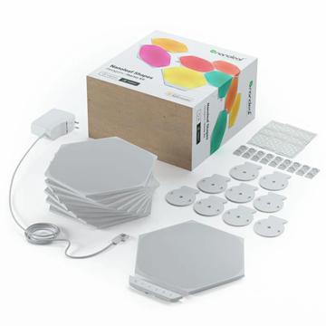 图片 Nanoleaf Shapes Hexagons Smarter Kit 智能拼装照明灯9个六角形灯板Smarter Kit