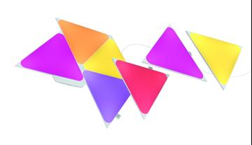 圖片 Nanoleaf Shapes Mini Triangle Expansion Kit 智能拼裝照明燈 10個小型三角形燈板