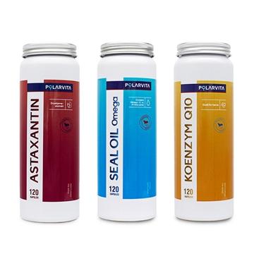 图片 Polarvita 挪威三宝优惠装 健心、通血管、抗衰老