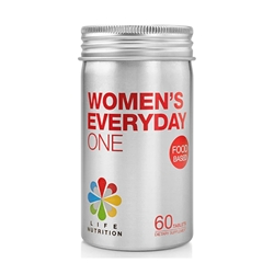 LIFE Nutrition 食物基底多种维他命 - 女士 (60粒)