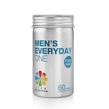 图片 LIFE Nutrition 食物基底多种维他命- 男士(60粒)