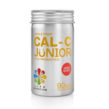 圖片 LIFE Nutrition 兒童全營養鈣C益生片 (莓果味) (90粒)