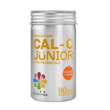 图片 LIFE Nutrition 儿童全营养钙C益生片 (香橙味) (90粒)