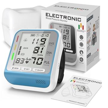 圖片 Andard 全自動手腕式電子血壓計 (三色背光)