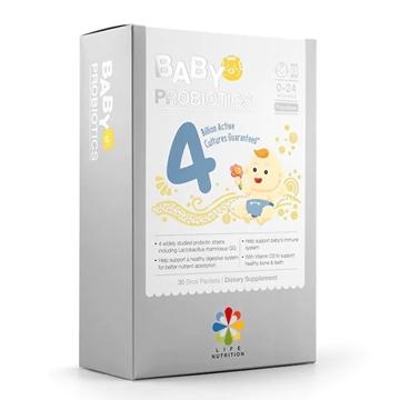 圖片 LIFE Nutrition 嬰兒抗敏益生菌 (30包)
