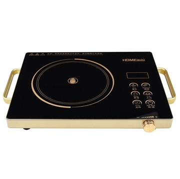 Picture of HOME@dd® Smart touch stainless steel electric ceramic stove (three-ring fire rotary type firepower)