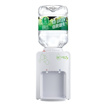 Picture of Wats-MiniS H&C Dispenser (Black / White) + 8L bottled water x 6 cases (2 bottles/ carton)