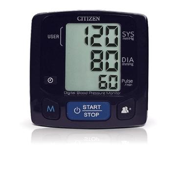图片 CITIZEN CH-618 电子血压计- 黑色(手腕式)