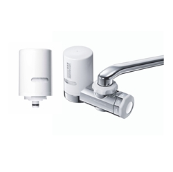 MITSUBISHI Cleansui EF201 FAUCET MOUNTED FILTER Package (1 Machine With 2 Cartridges)