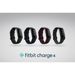 Fitbit - Charge 4 (NFC) Smart Watch